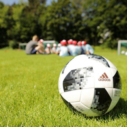 26.06.2018, Stadion Ost, Bitburg, GER, Fußballcamp, Anstoss Fußballschule, im Bild   Foto © Sebastian J. Schwarz